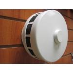 Оголовок КИВ-125 круглый или квадратный белый